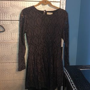 Altar'd state lace long sleeve dress